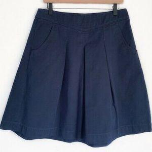 J.Crew chino pleated skirt side 6